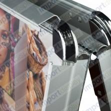 CABALLETE ALUMINIO 60x150 a 2 CARAS
